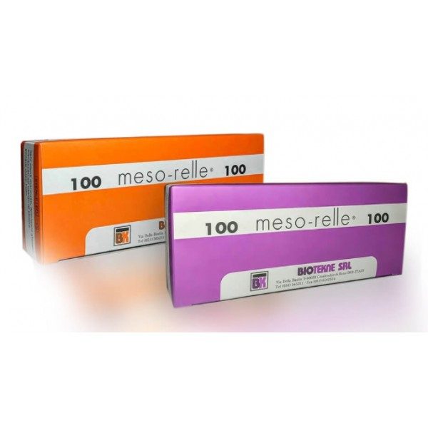 AGHI MESORELLE LUER MESO 27G Ø 0,40X4MM.CONF.100PZ