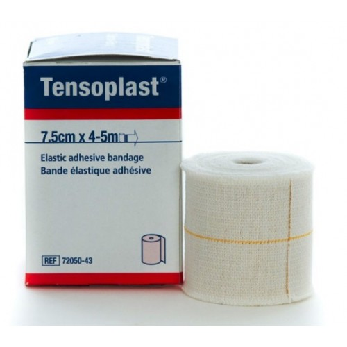 TENSOPLAST BENDA ELASTICA CM 7,5X4,5 MT