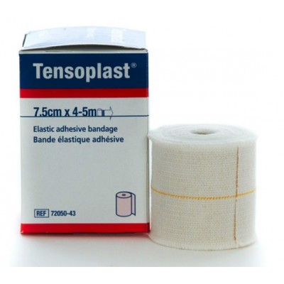 TENSOPLAST BENDA ELASTICA ADESIVA CM 7,5X4,5 MT