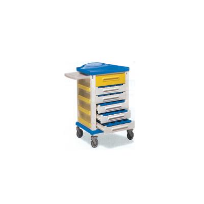 Carrello Distribuzione Farmaci - 20 Divisori