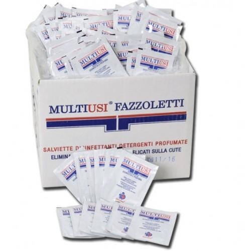 SALVIETTINE DISINFETTANTI -BUSTINA SINGOLA -400 PZ
