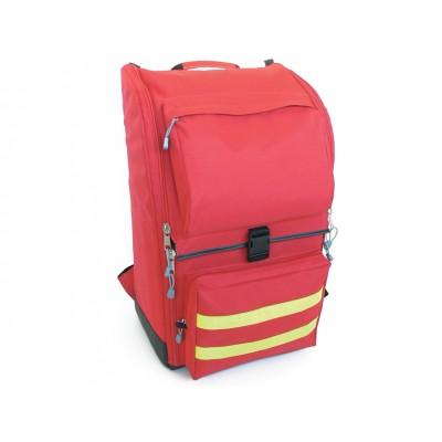 Zaino Ambulanza Poliestere Grande - Rosso