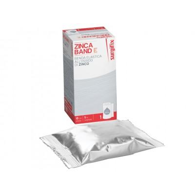 Bendaggio All'ossido Di Zinco 10 Cm X 5 Mt
