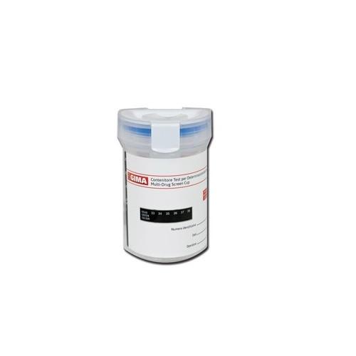 CUP TEST DROGHE - 7 PARAMETRI + ADULTERANTI- 25 PZ