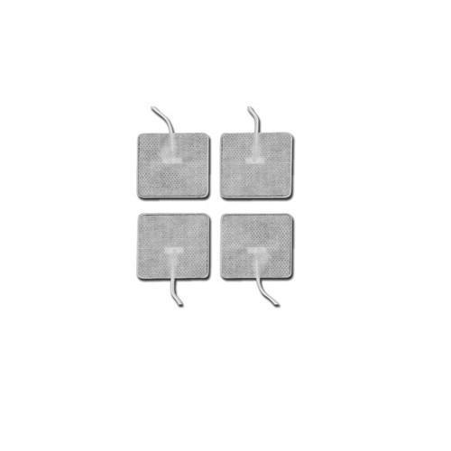 ELETTRODI PREGELLATI 46 X 47 MM CON CAVO - 4 PZ
