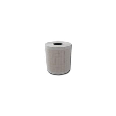 Rotolo Carta Termica Ecg-griglia Arancio 50mmx25mt