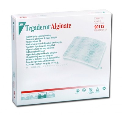Tegaderm 3m Alginate 10x10 Cm - Conf.10 Pezzi