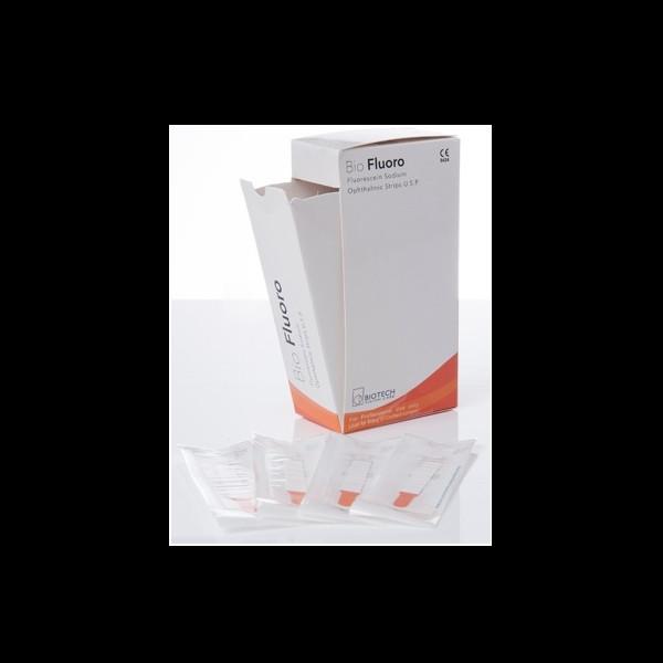 FLUORESCINA SODICA MONOUSO - 100 STRISCE