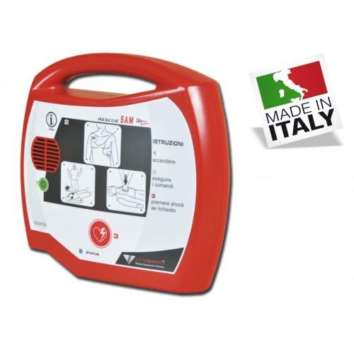 DEFIBRILLATORE AED RESCUE SAM CON STARTER PACK
