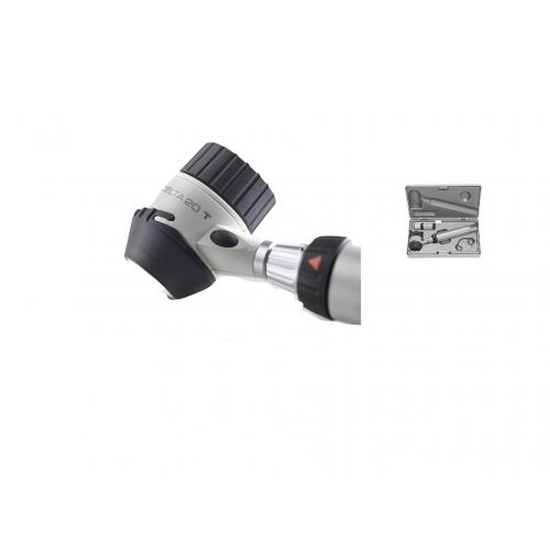 Set Dermatoscopio Delta 20 T Led 10x -16x