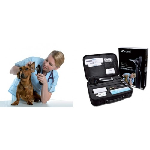 Videotoscopio Md Scope Veterinaria - Con 3 Sonde
