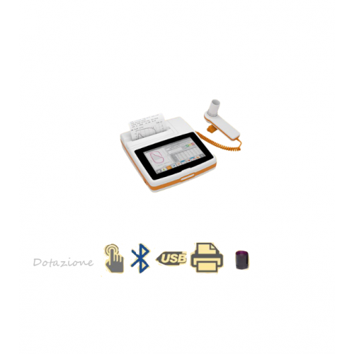 SPIROMETRO NEW SPIROLAB TOUCHSCREEN 7