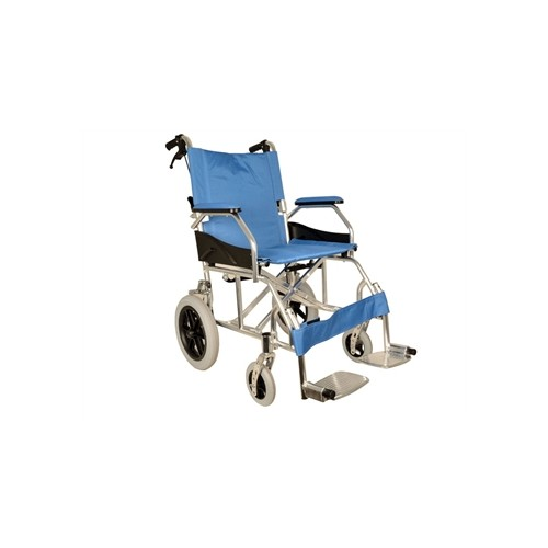 Carrozzina Alluminio Queen - Azzurra