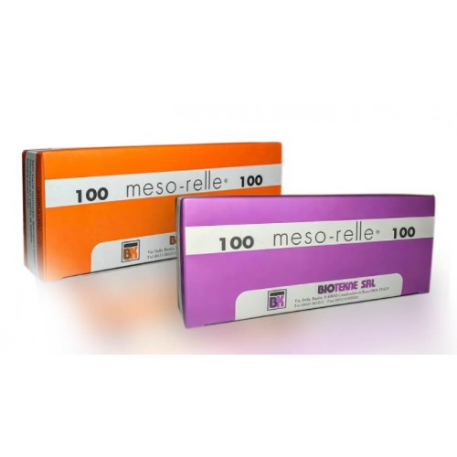 AGHI MESORELLE LUER MESO 27G Ø0,40X 6MM.CONF.100PZ