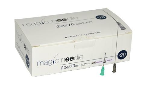 MICROCANNULE MAGIC NEEDLE PER FILLER 22GX70MM 20PZ