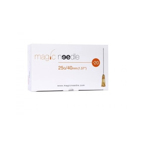 AGHI MAGIC NEEDLE PER FILLER 25G X 40MM CONF.20 PZ