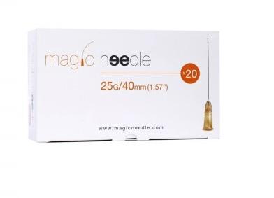 MICROCANNULE MAGIC NEEDLE PER FILLER 25GX40MM 20PZ
