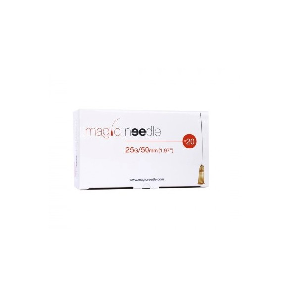 AGHI MAGIC NEEDLE PER FILLER 25G X 50MM CONF.20 PZ