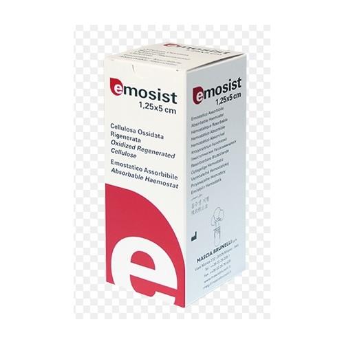 EMOSTATICO ASSORBIBILE EMOSIST 1,25X5 CM-CONF.10PZ