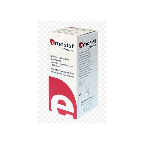 EMOSIST EMOSTATICO ASSORBIBILE 1,25X5 CM-CONF.10PZ