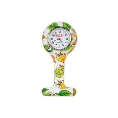Orologio Per Infermieri - Rotondo - Fantasia Bolle