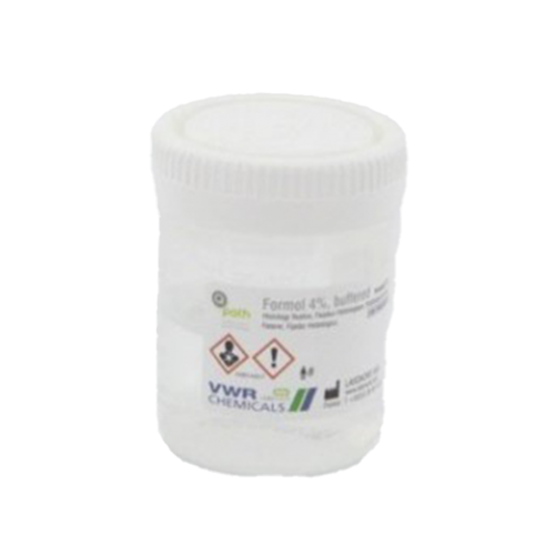 CONTENITORE 60 CC -25 ML FORMALDEIDE AL 4%-50 PZ