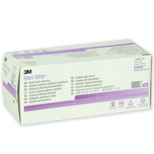 3M STERI-STRIP ELASTICI - 3X75 MM - 250 STRISCE