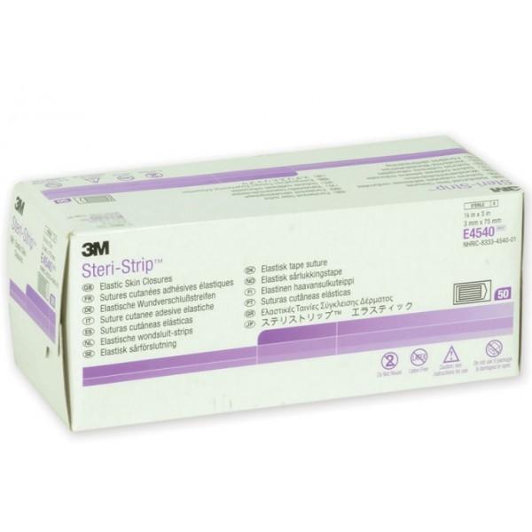 3M STERI-STRIP ELASTICI - 3X75 MM - 250 STRISCE