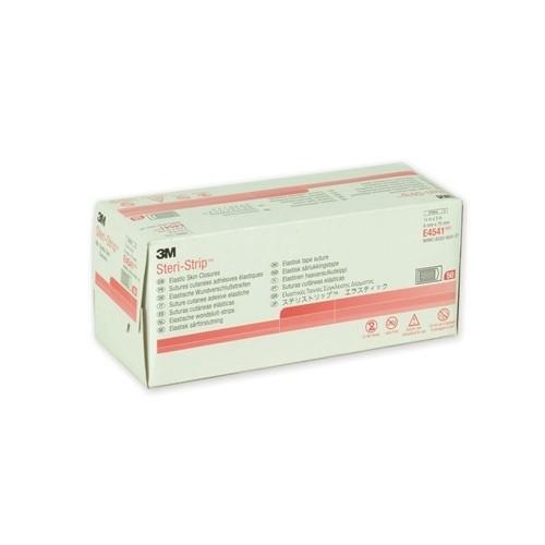 STERI-STRIP ELASTICI 3M  6X75MM COLOR CARNE 150 PZ