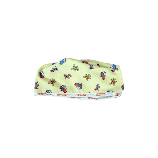 CAPPELLINO CHIRUGICO IN COTONE FANTASIA BEIGE
