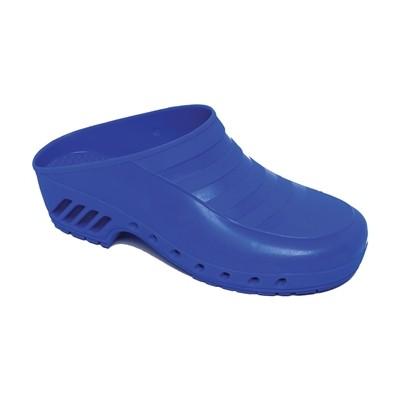 Zoccoli Blu Elettrico - Senza Fori - 35-36