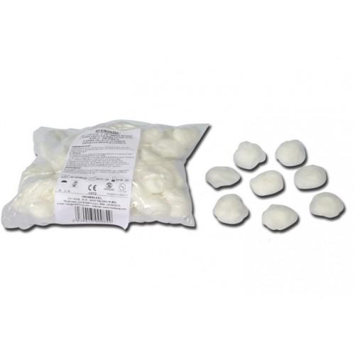 TAMPONI ROTONDI GARZA DIAM. 50 MM - 100 PEZZI