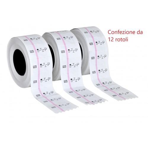 ROTOLO DA 500 ETICHETTE PER ETICHETTATRICE V20
