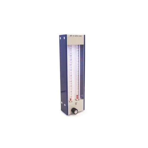 Flussimetro Doppia Scala In Vetro O2 10lt/min