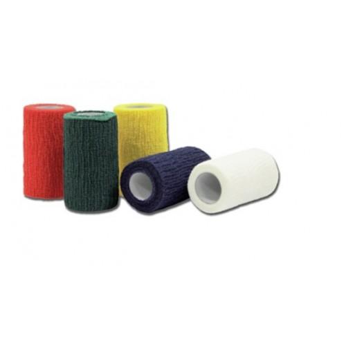 Benda Elastica Coesiva 4 Mx6 Cm Colori Misti 10 Pz