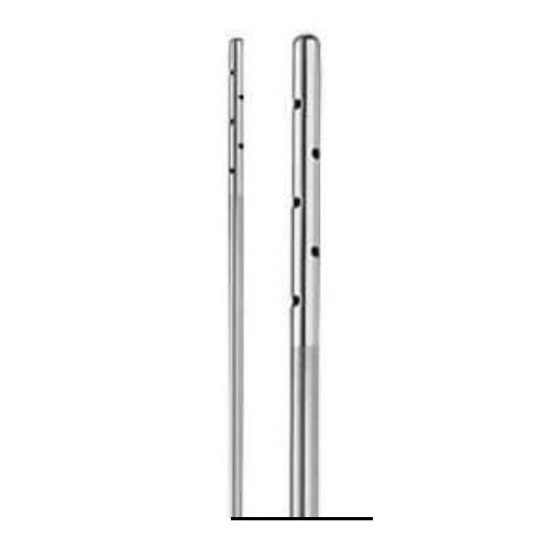CANNULA ROUNDED TIP TWO PORTS 15 CM DIAM. 3MM