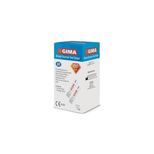 STRISCE GLUCOSIO PER GLUCOMETRO GIMA CFX50PZ