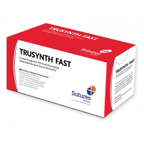 SUTURE ASSORBIBILI TRUSYNTH FAST 4/0 3/8 19MM