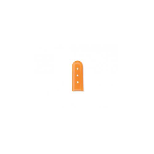 COPRIPUNTA CON FORI ARANCIONE 9,5X25,4 MM